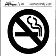 Smoking By-law in York region.